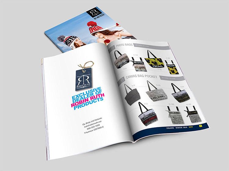 עיצוב קטלוג מוצרים
