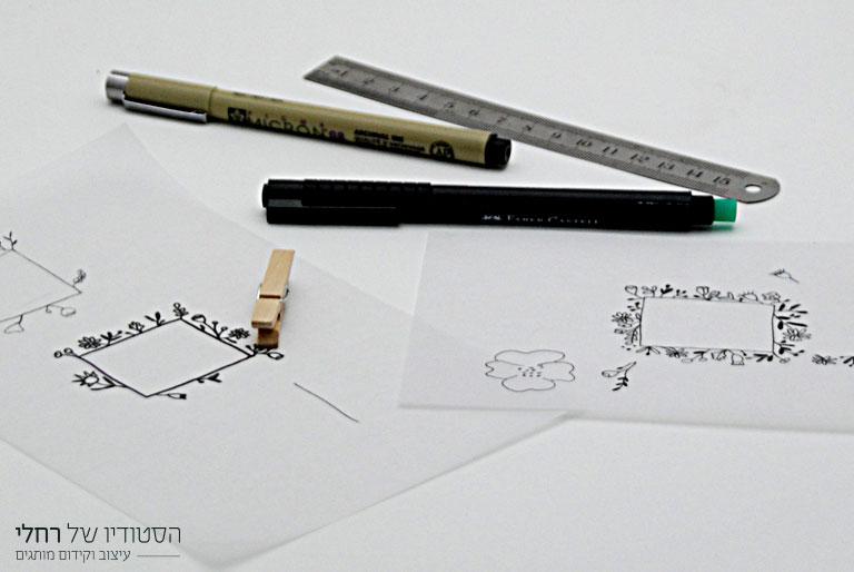 תהליך עיצוב לוגו