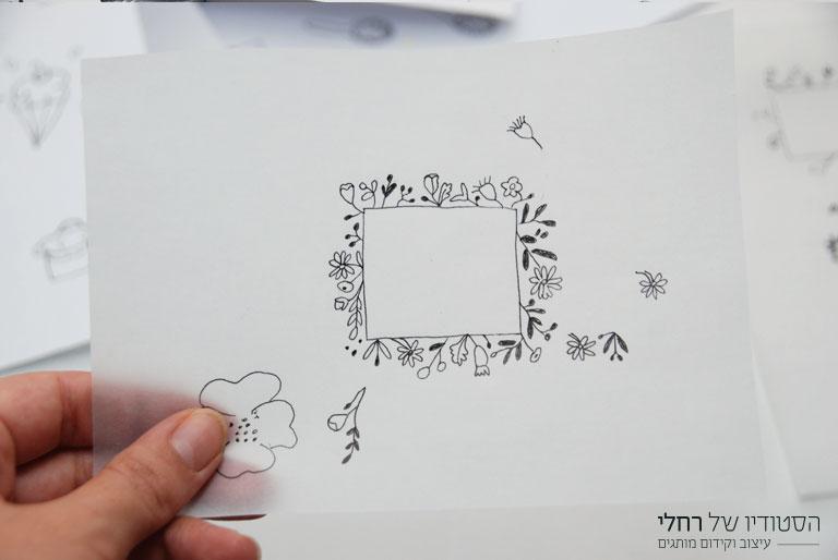 תהליך יצירת לוגו לחנות אופנה