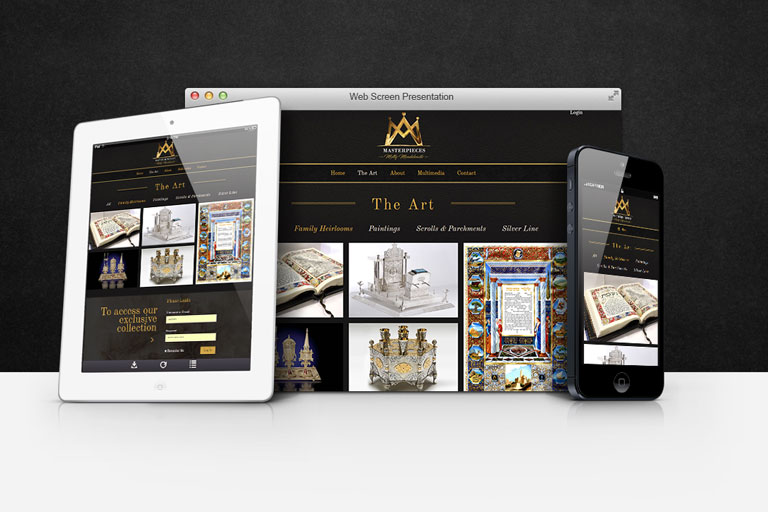 עיצוב ובניית אתר למוצרי יודאיקה