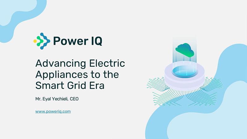 עיצוב מצגת לסטארטאפ מערכות חשמל חכמות